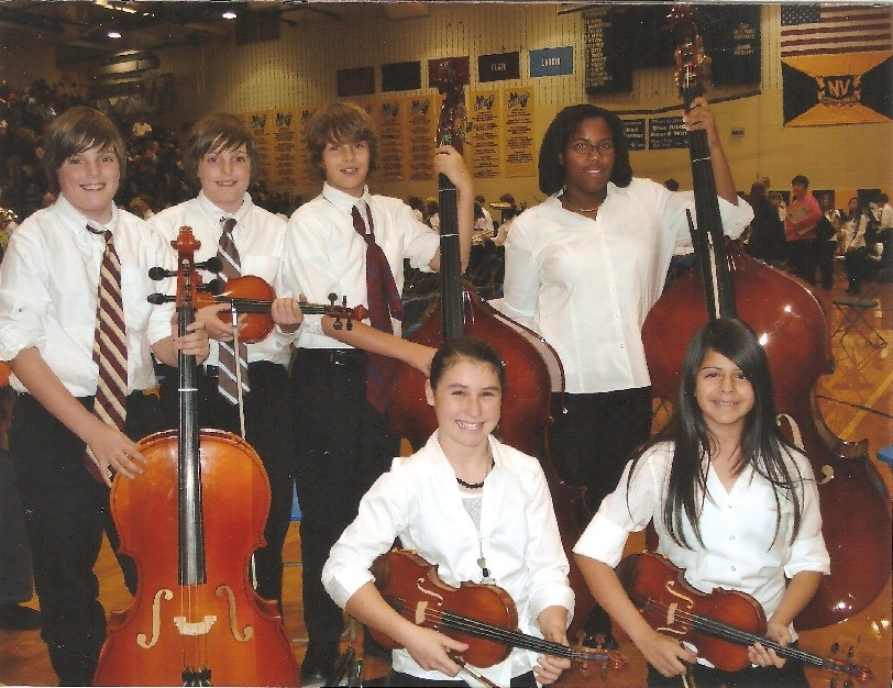 Alyssa and other IMEA GHS students