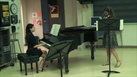 Alyssa – Piano accompanist for GHS student for IMEA