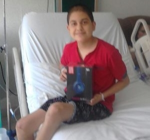 Name: Sam Age: 14 Hometown: Chiapas, Mexico Gift: Dr. Dre Beats (Private Donation)  Read more...