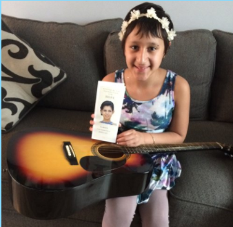 Name: Ailani Age: 11 Hometown: Aurora, IL  Gift: Acoustic Guitar  Read more..