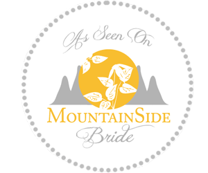 featured on mountainside bride