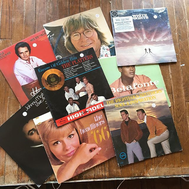 Several vintage vinyls out this week!