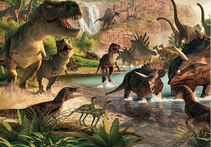 Photo Background Children Dinosaur Theme Party 7x5ft