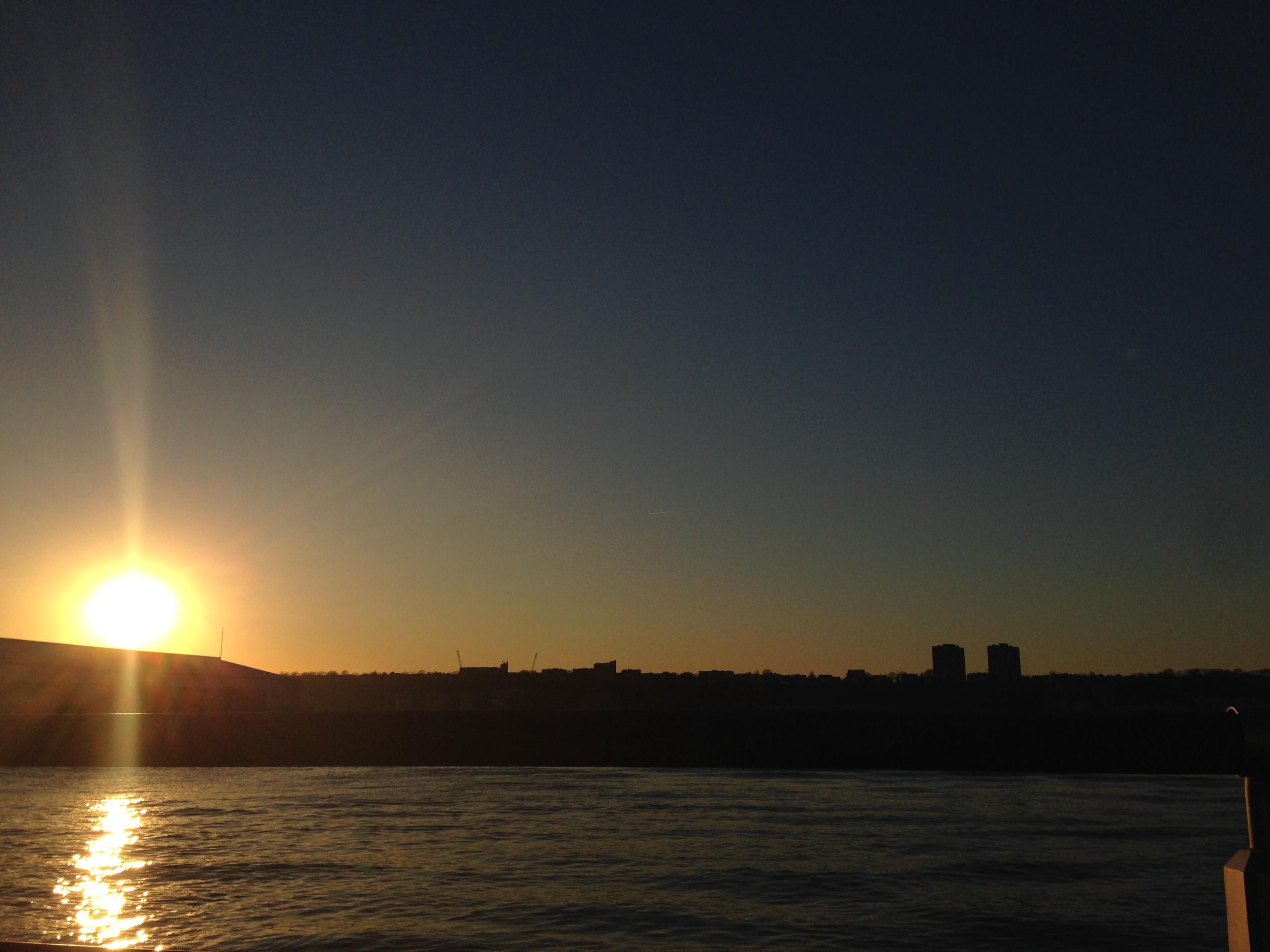 the sun!