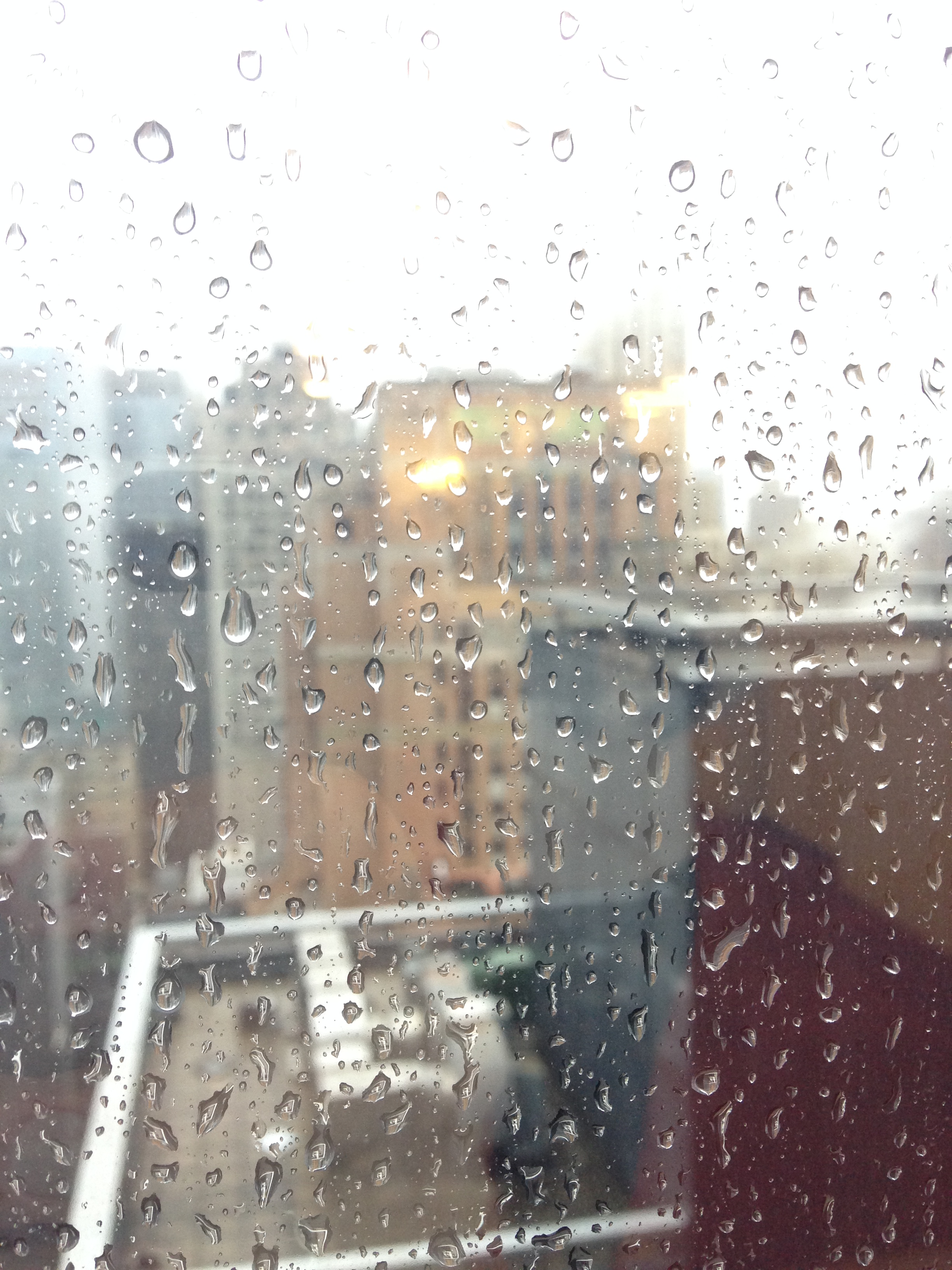 Rain can still be beautiful, from the 35th floor