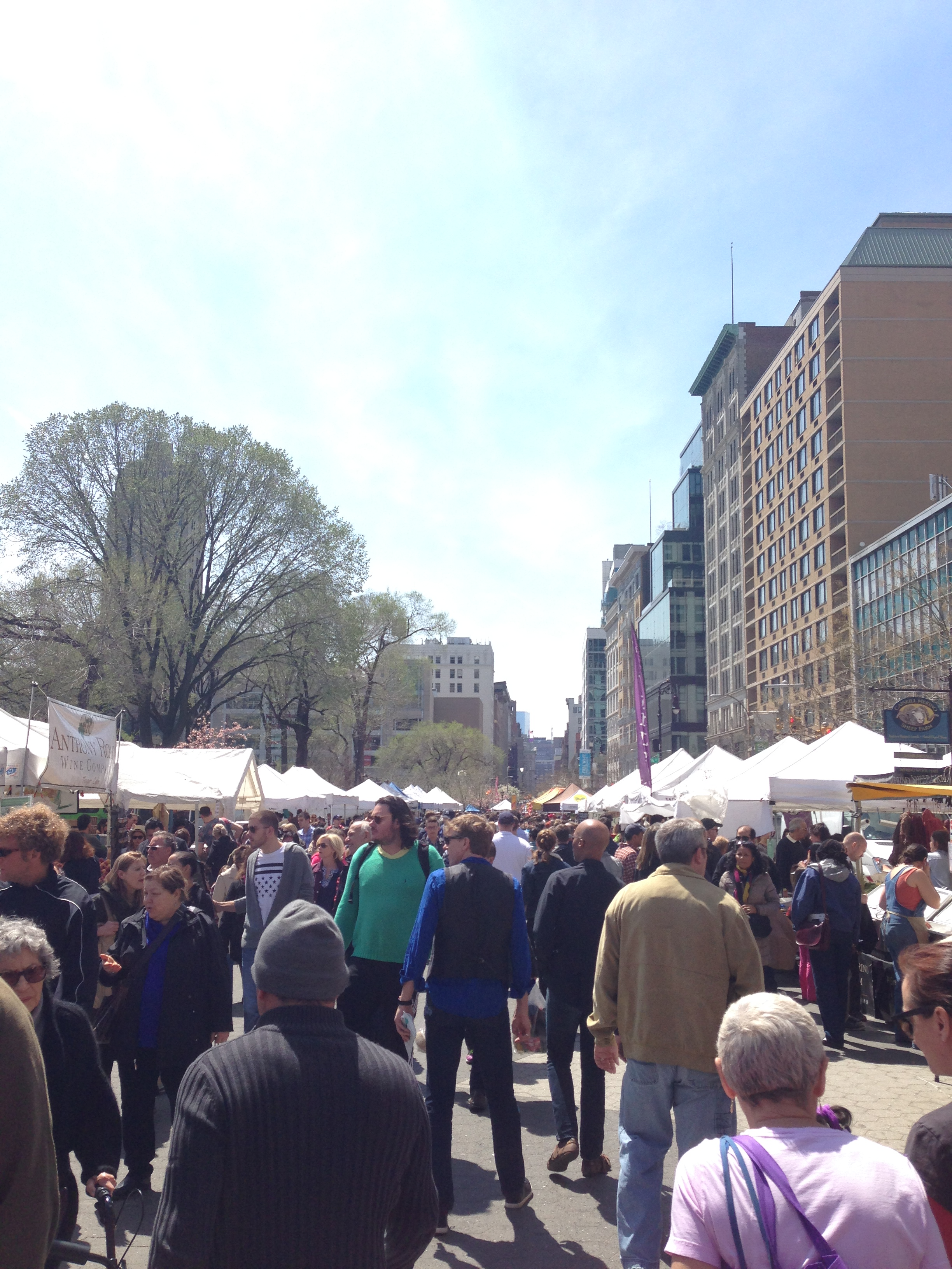 Union Sqaure Farmers Market - obsessed!