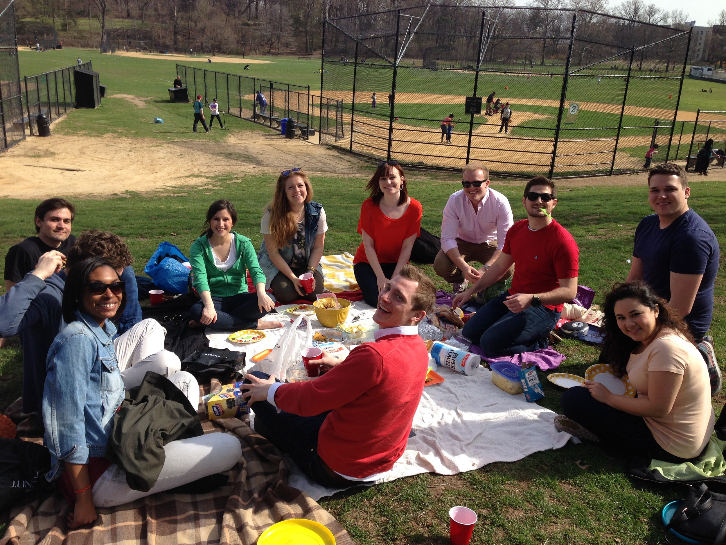 Easter celebration in the park
