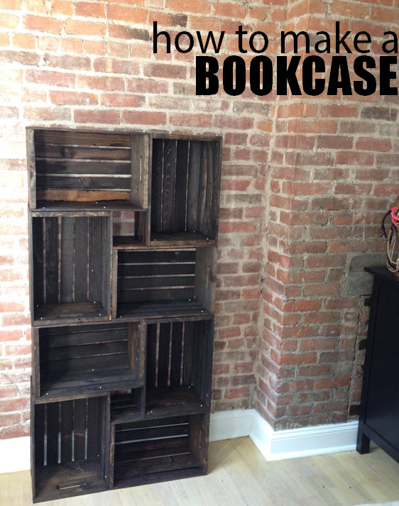 how to make a bookcase