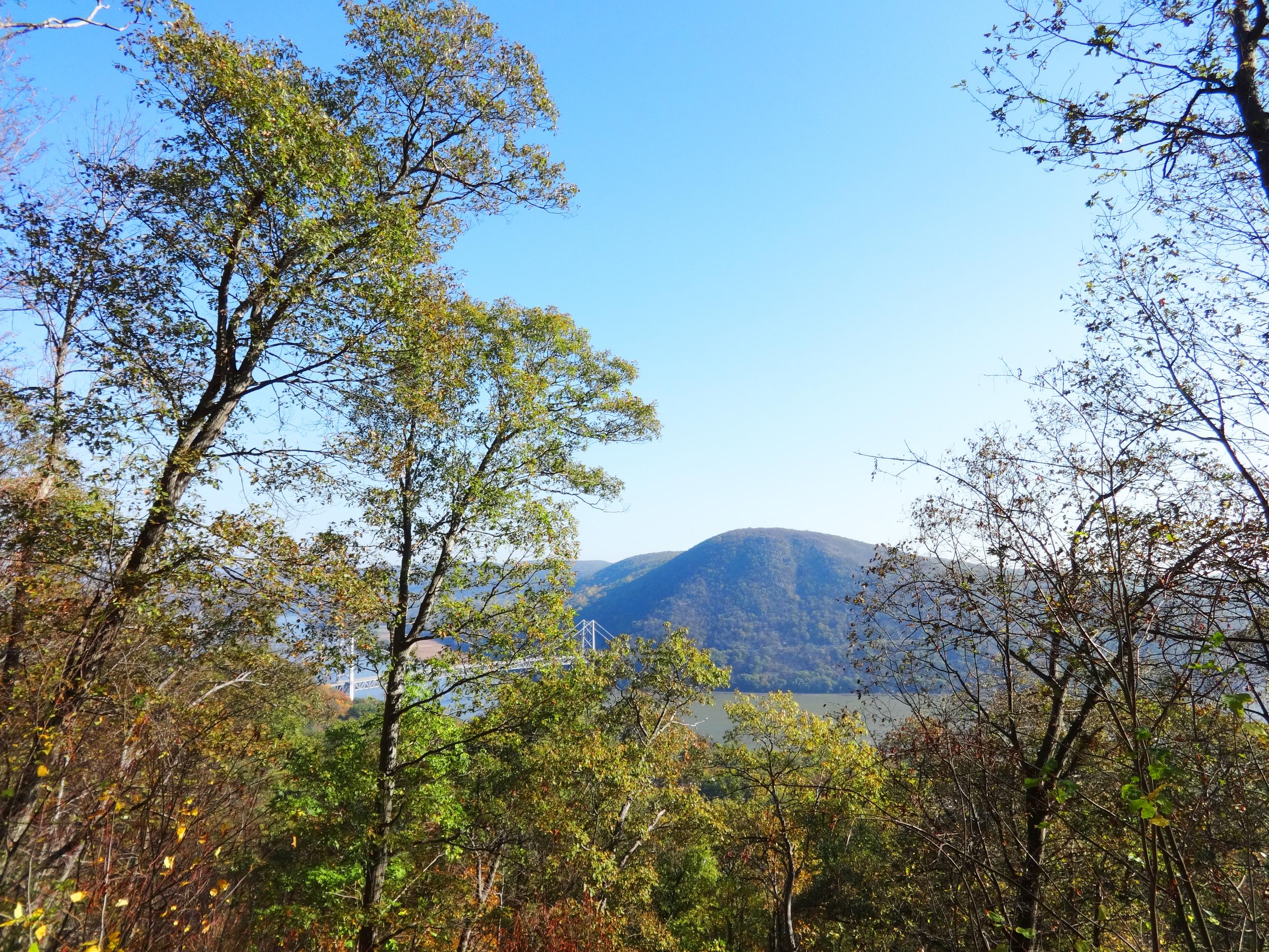 Beautiful view at Bear Mountain