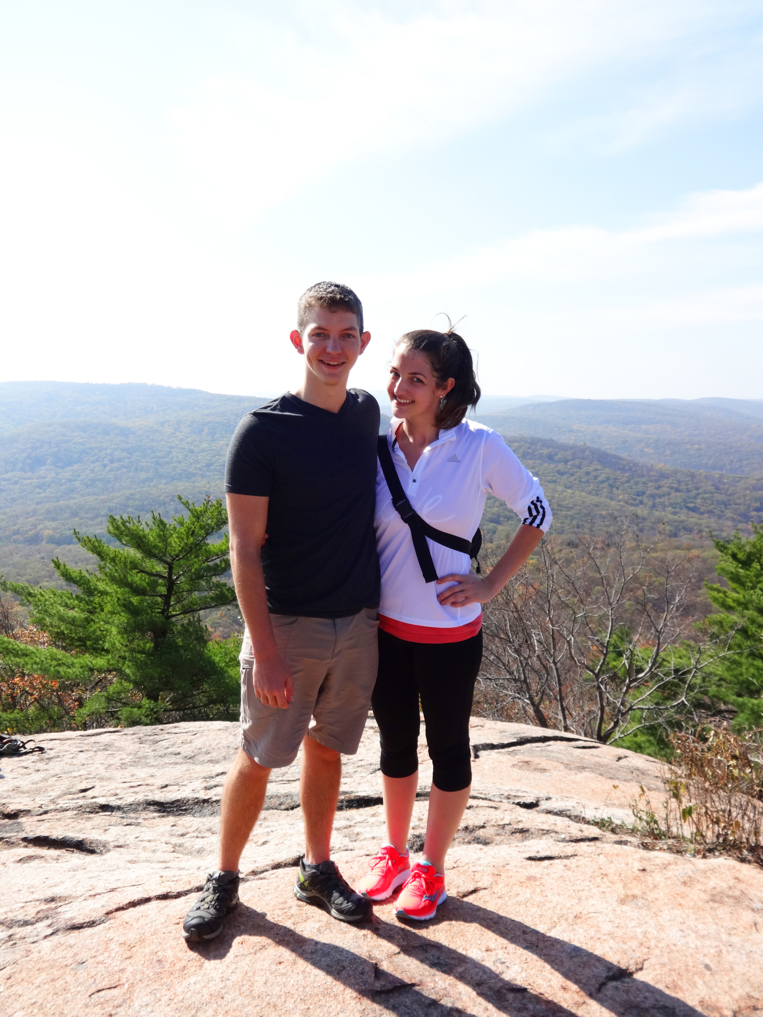 We made it all the way to the top of Bear Mountain!