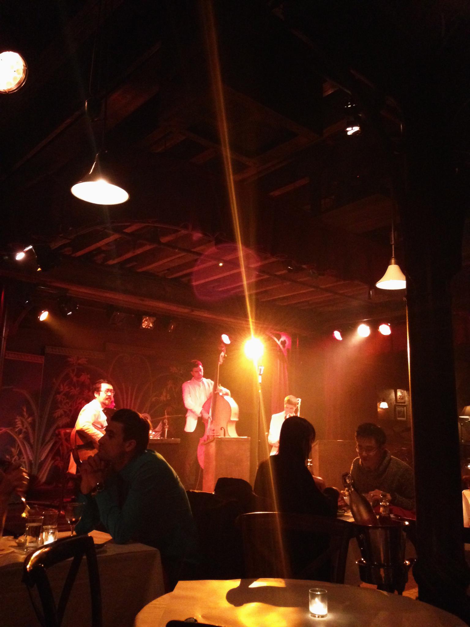 Live jazz at The Heath