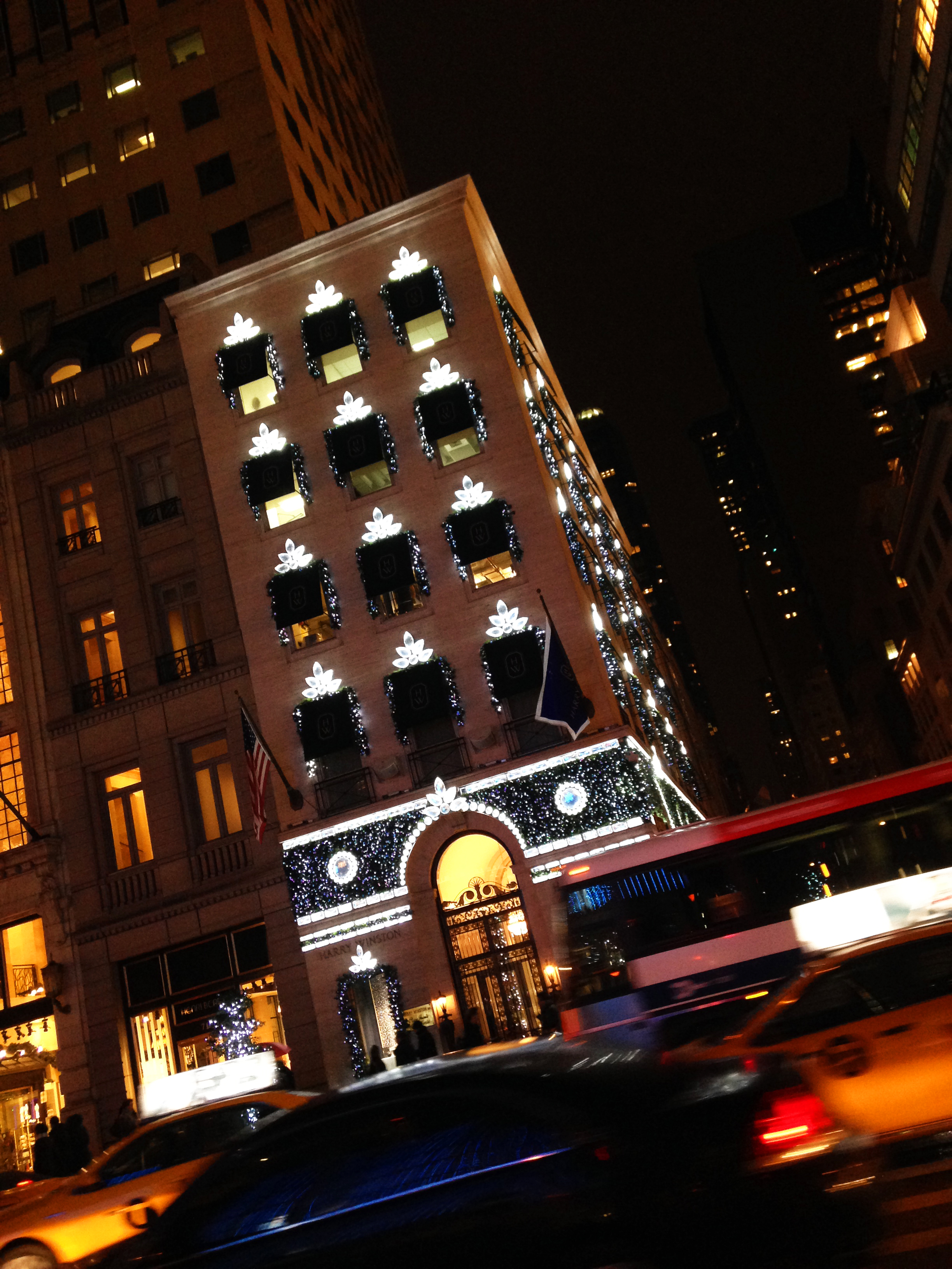 Harry Winston NYC Holidays