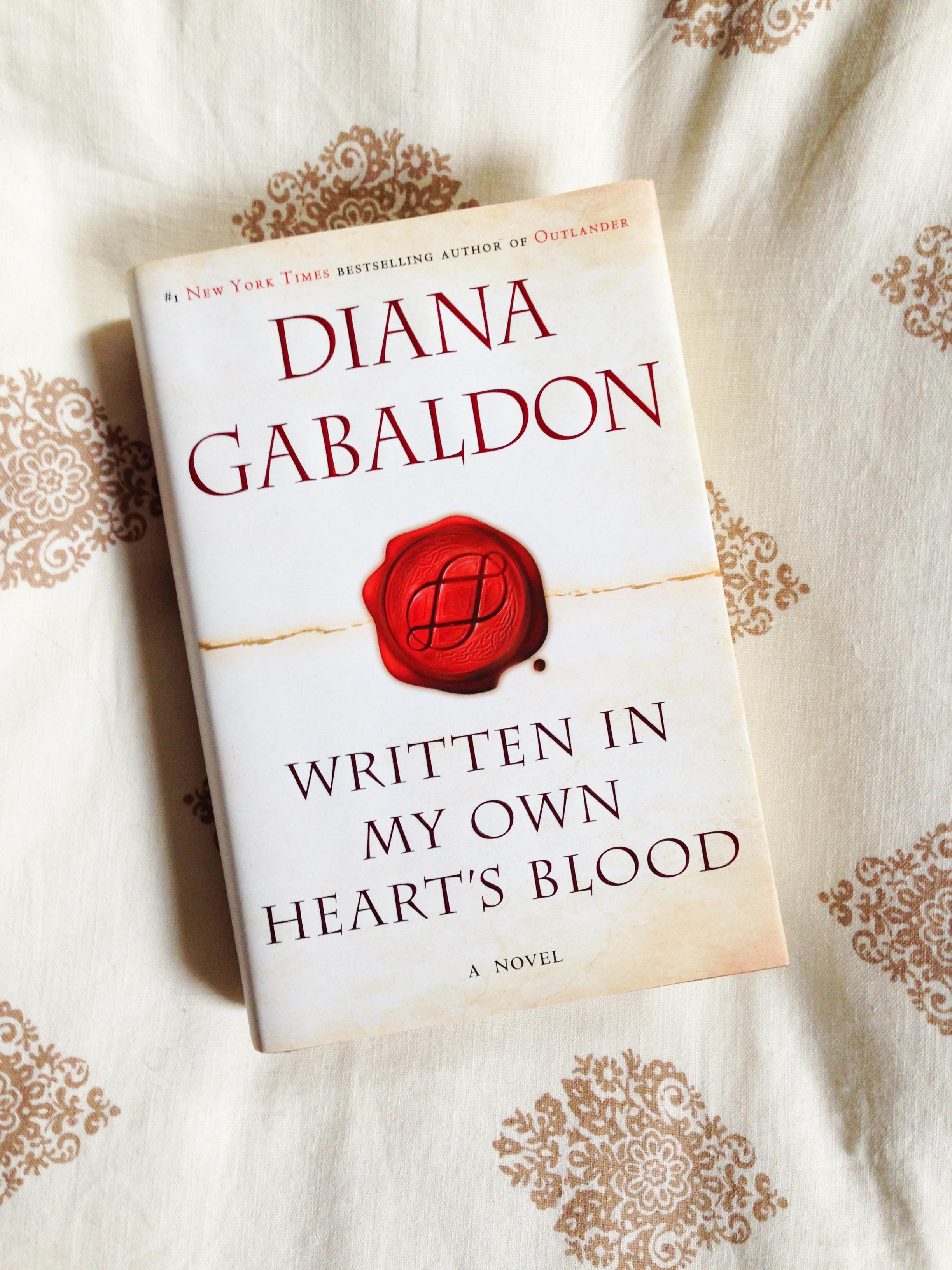 written in my own hearts blood by diana gabaldon