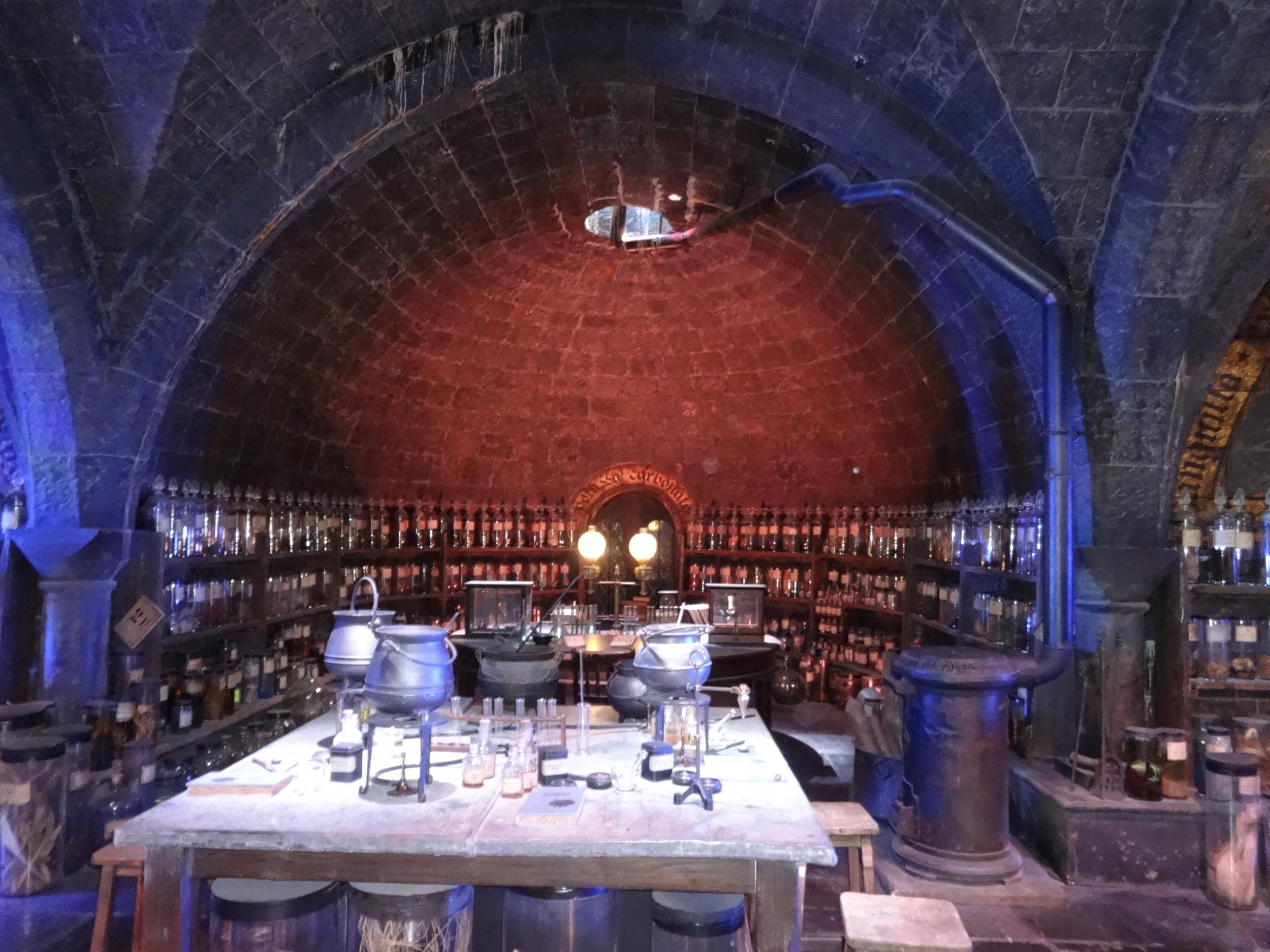 Potion's classroom