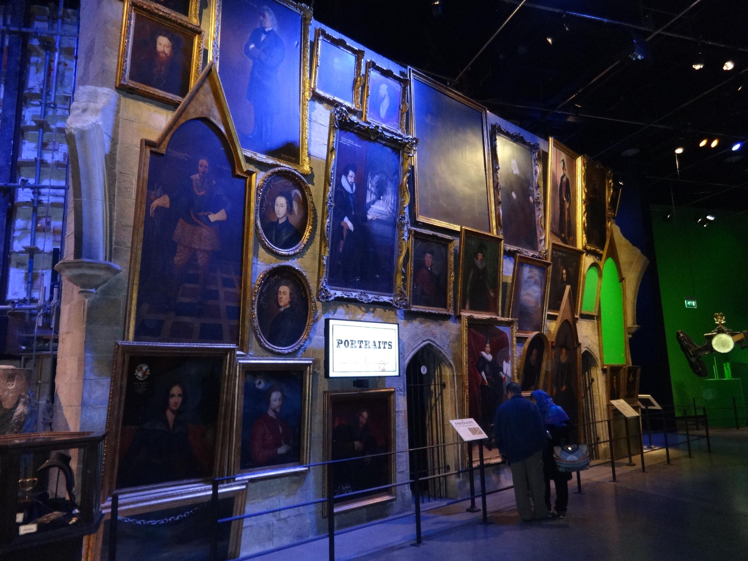 Hogwarts paintings
