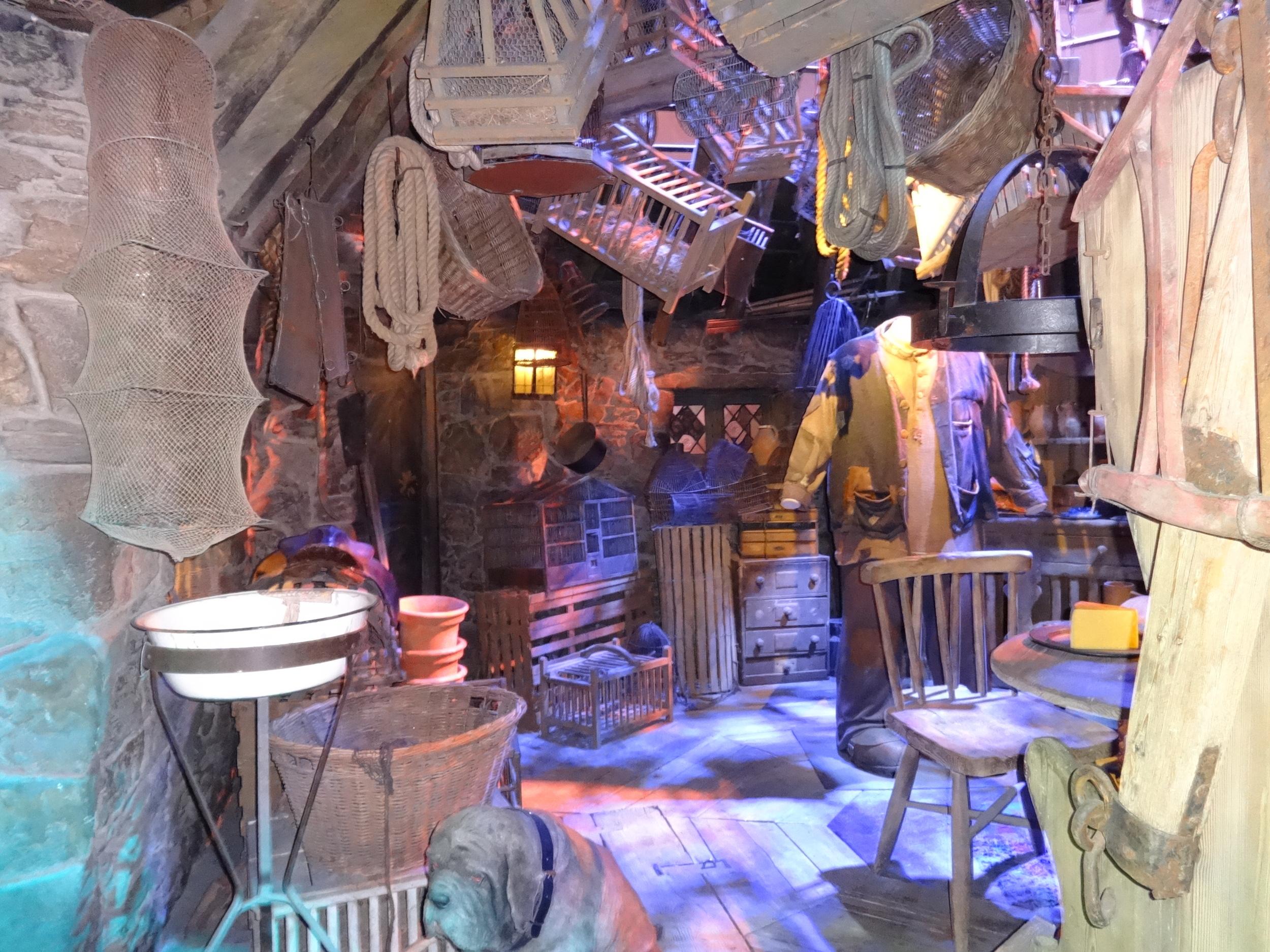 Inside of Hagrid's home