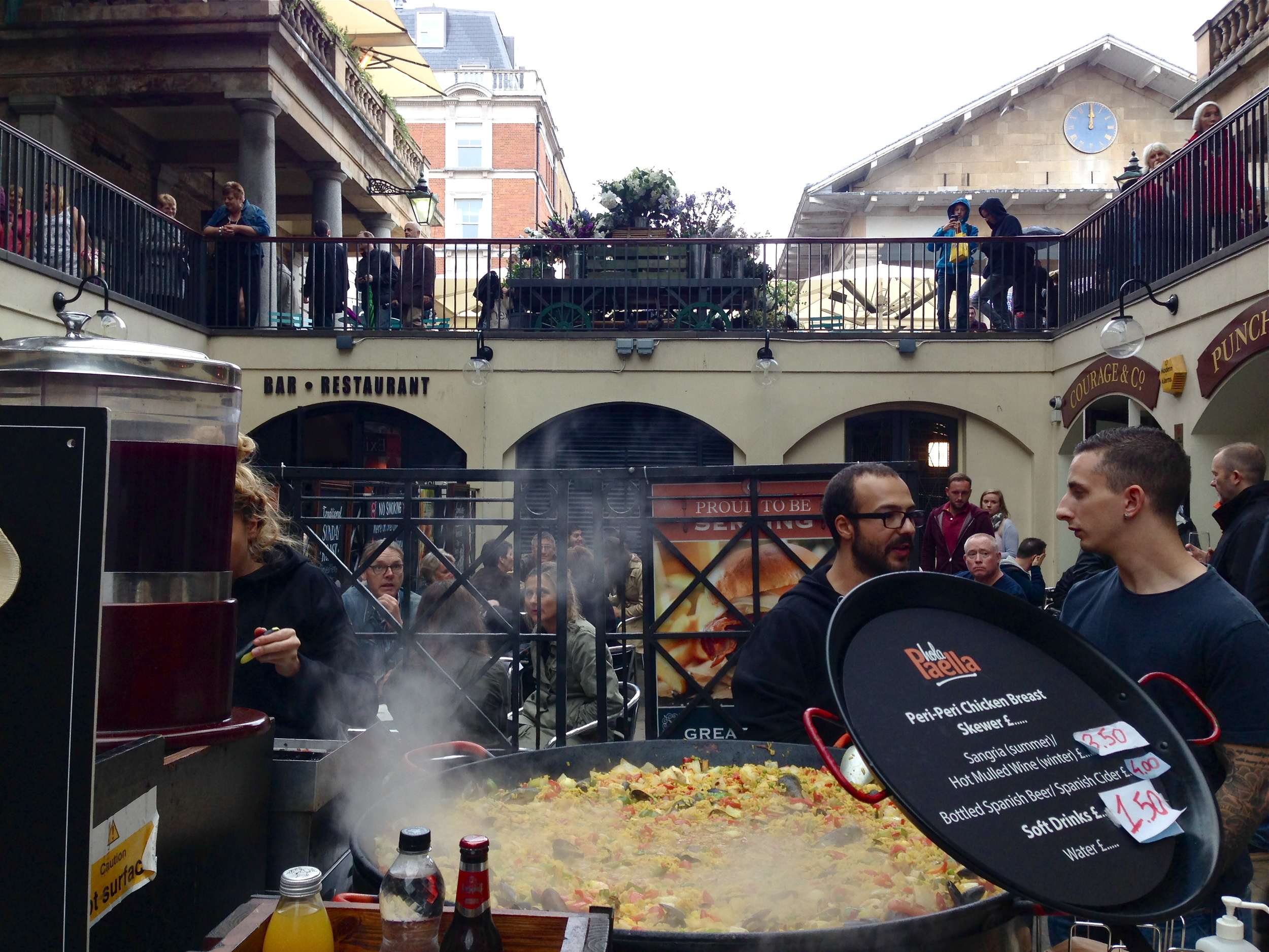 paella at Covent Garden