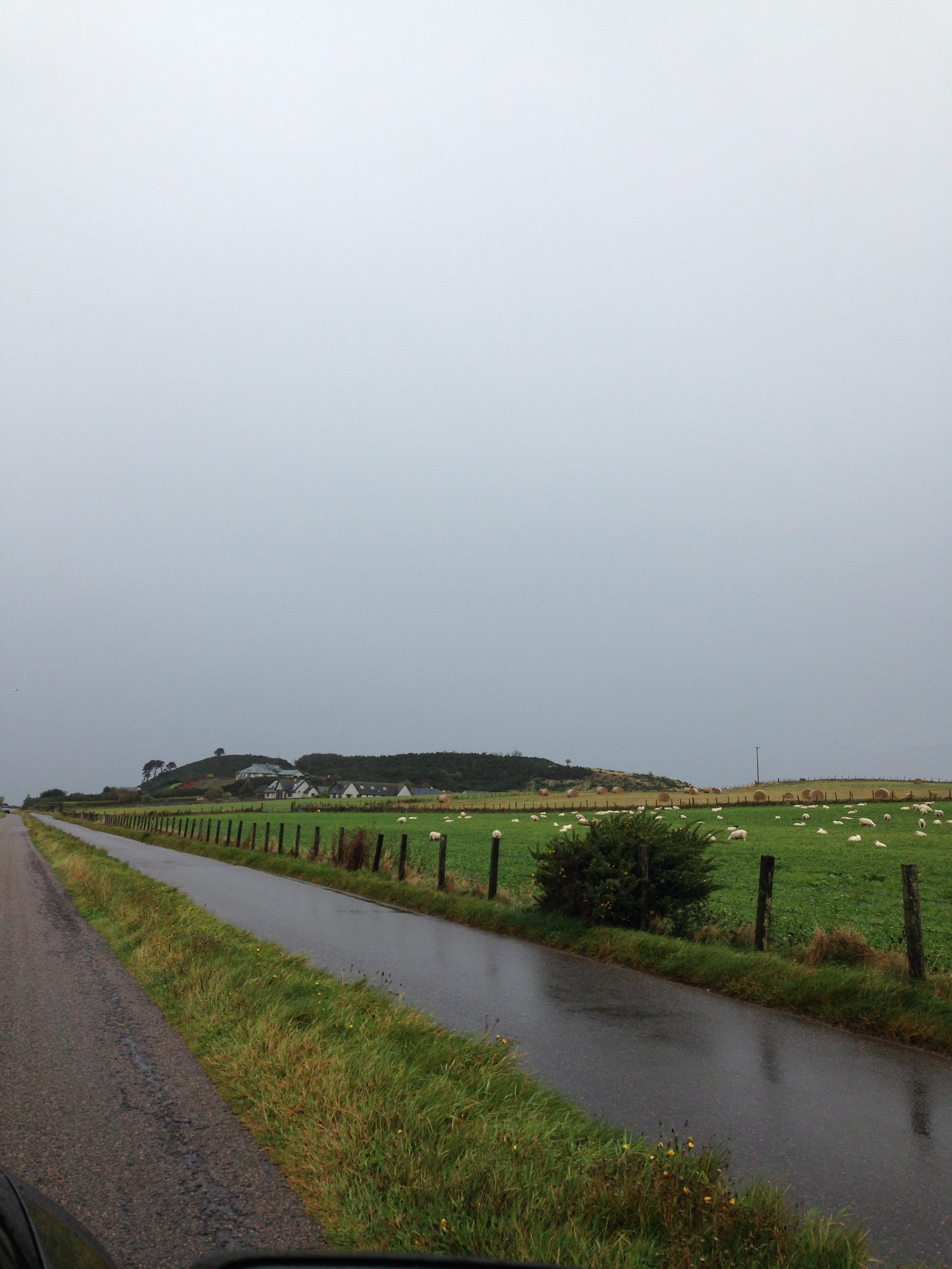 the drive to culloden moor