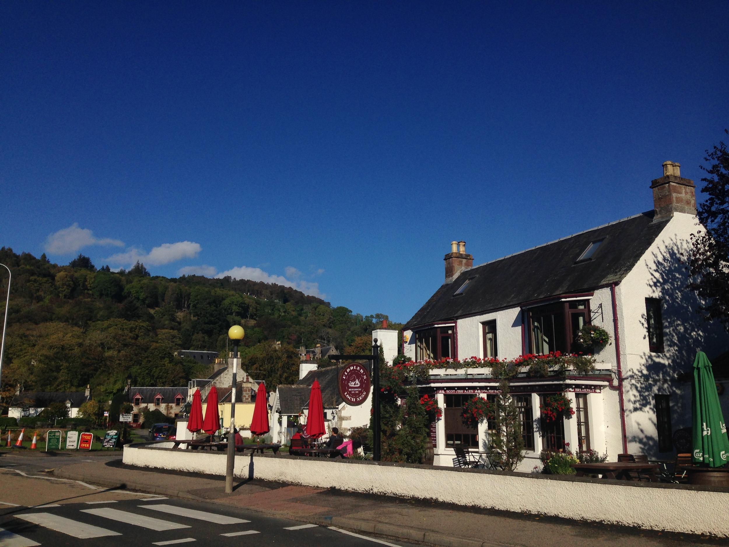 fiddlers inn, scotland