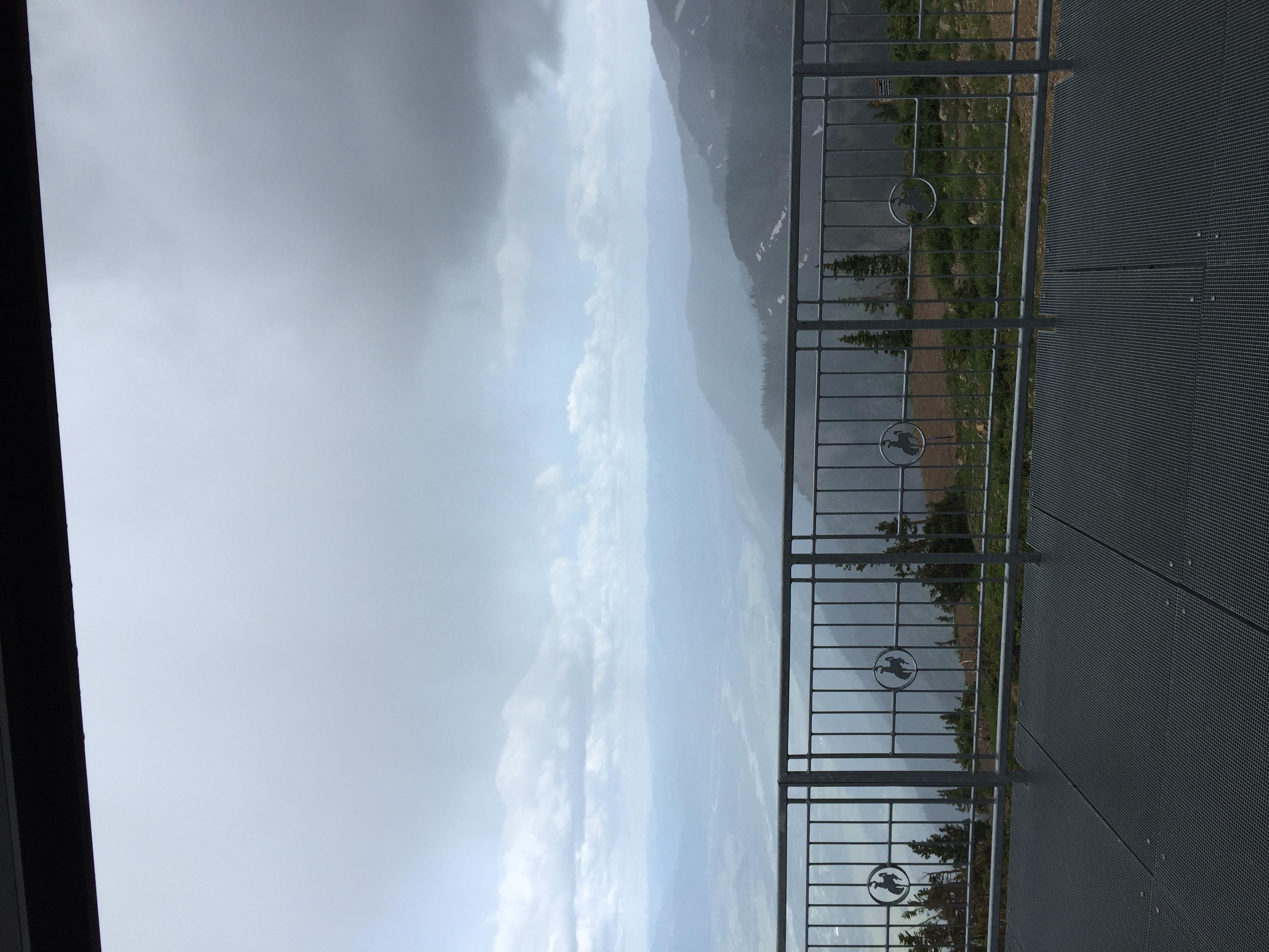 The coldest rain storm!!