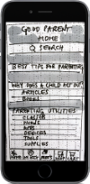 """First frame of """"Good Parent"""" app"""