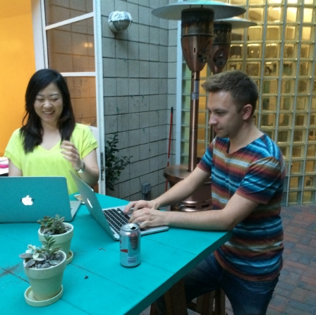 Rachel Park from our team is about to start working with test user Jason.