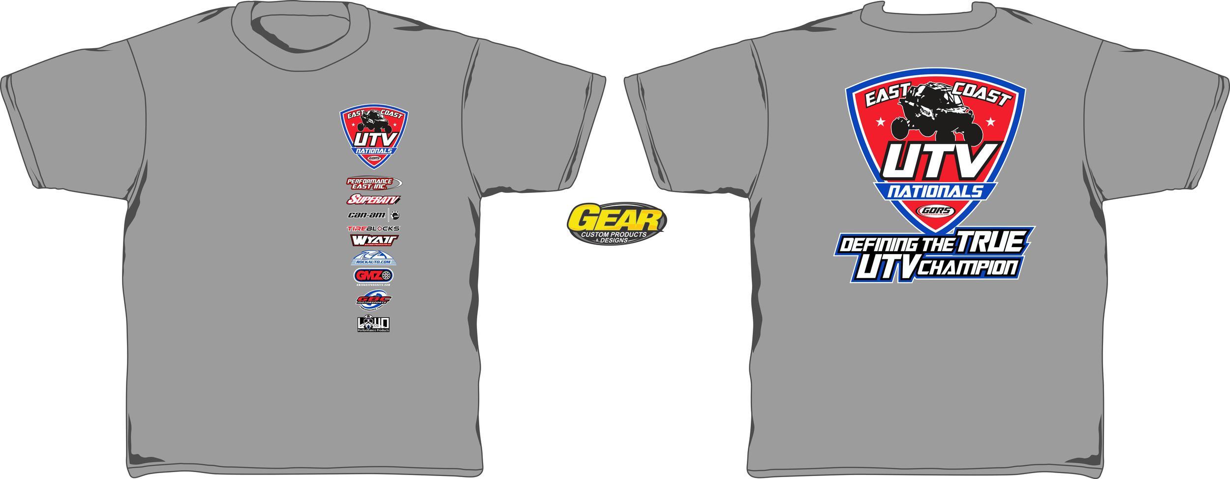 Click now to order you East Coast UTV Shirt!