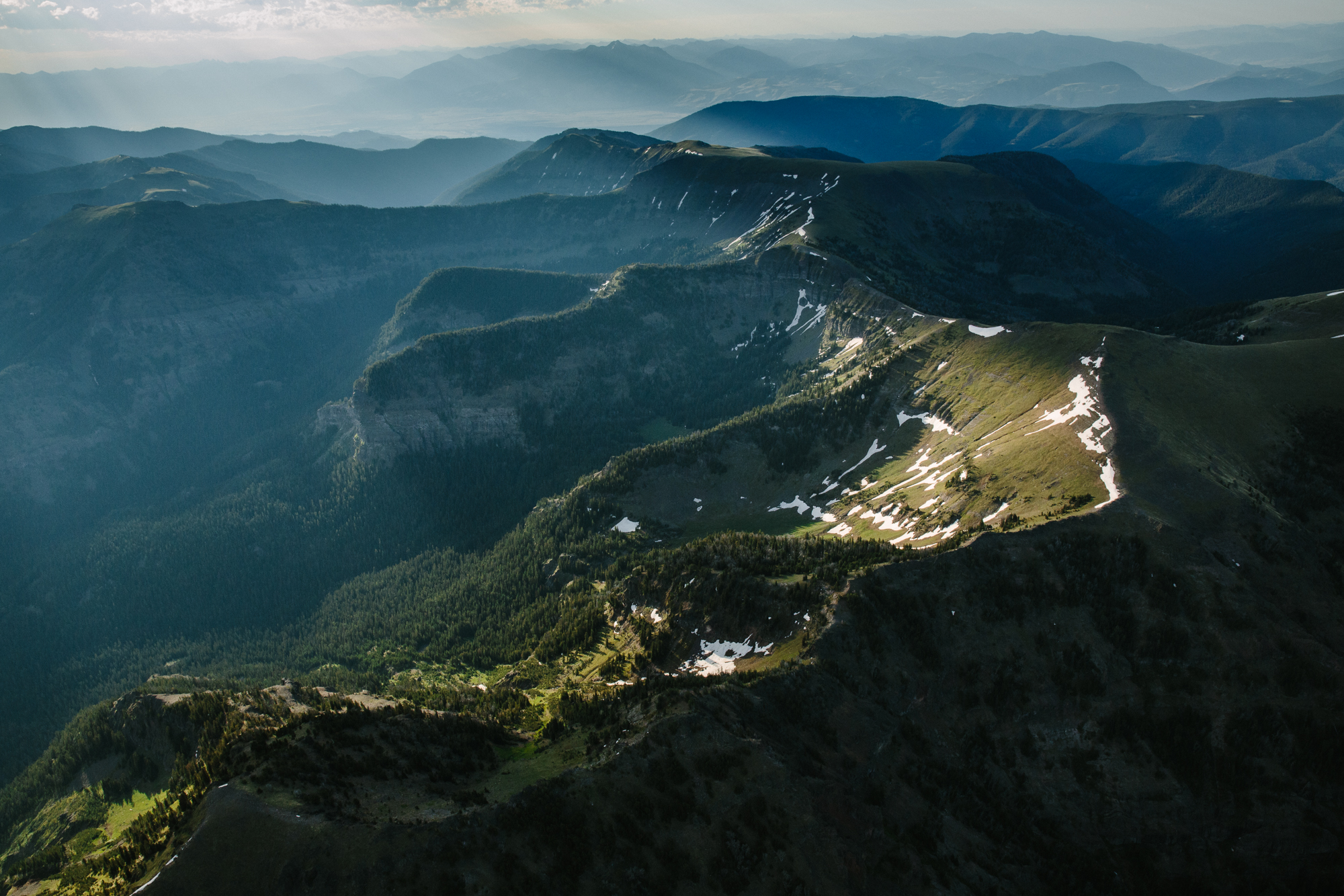 Gallatin Range. Montana.