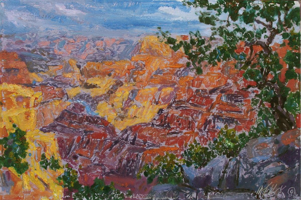 """Grand Canyon Sunset 24x36"""""""