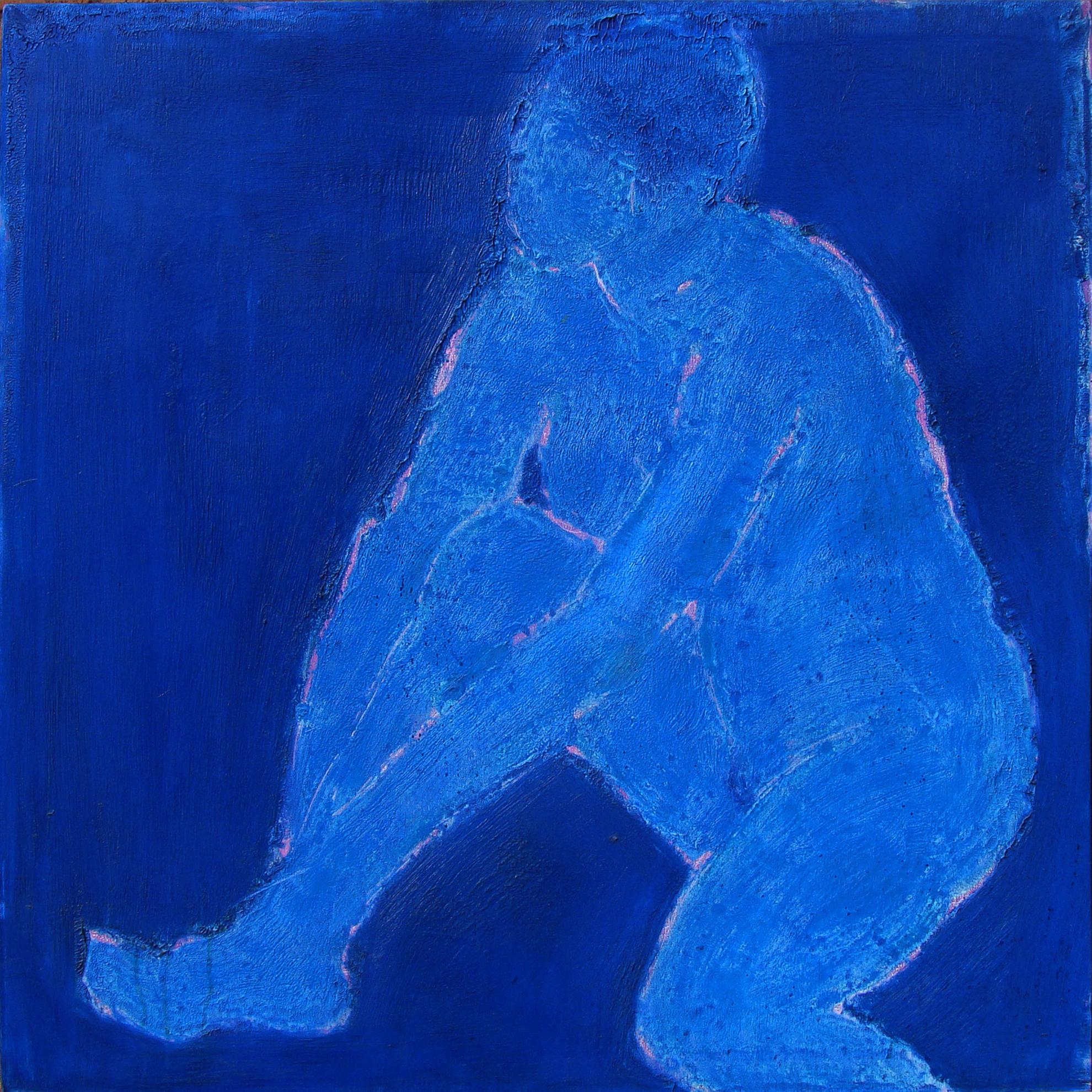 """Blue Nude 36x36"""""""