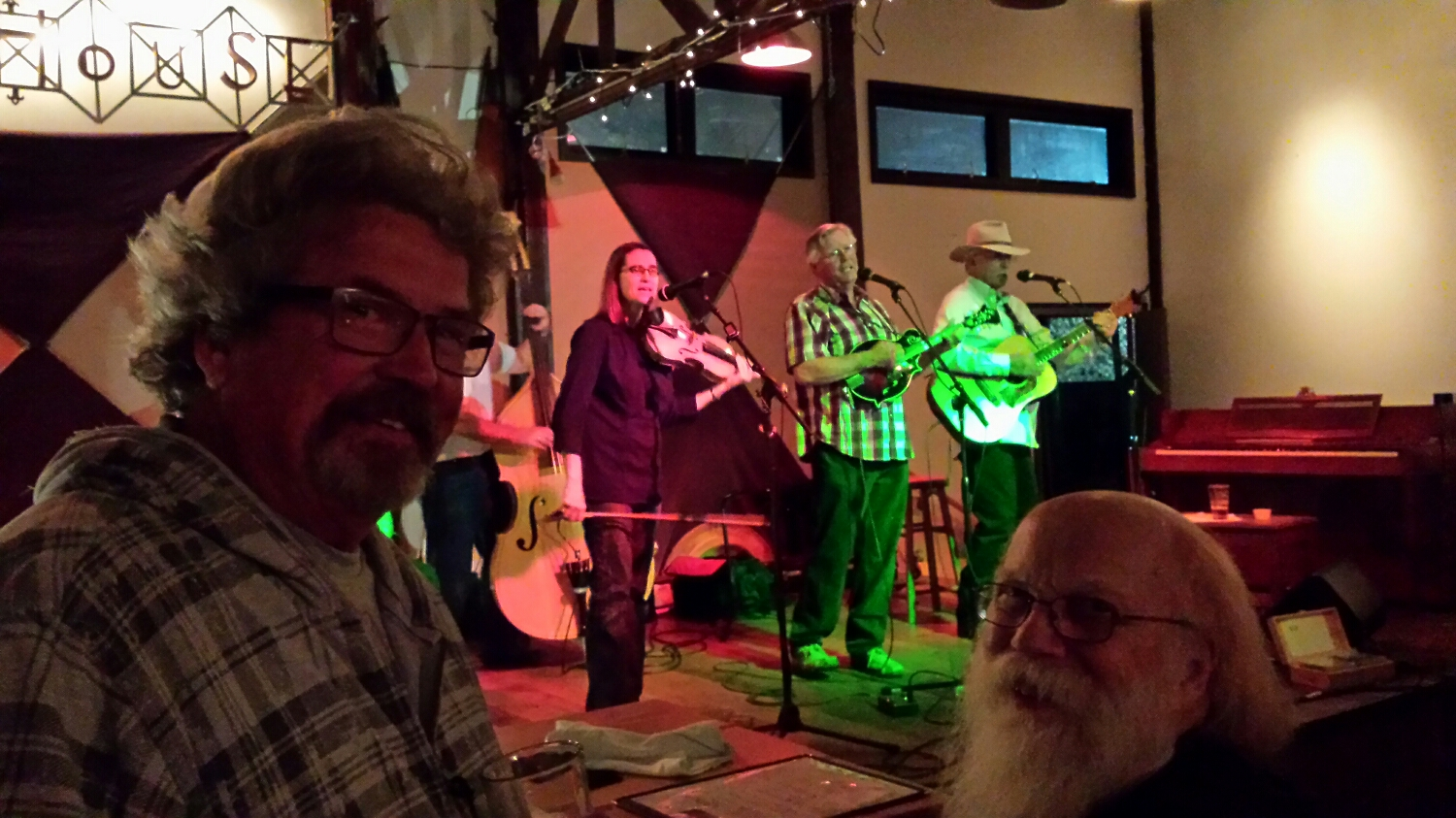 assign night of Music at The Boathouse Collective with good friends, bill shipp, ross landry and gary pay along with the ash street ramblers to name a few....   good people from good families...   so thankX to all 20 plus who were on their best behaviour.....