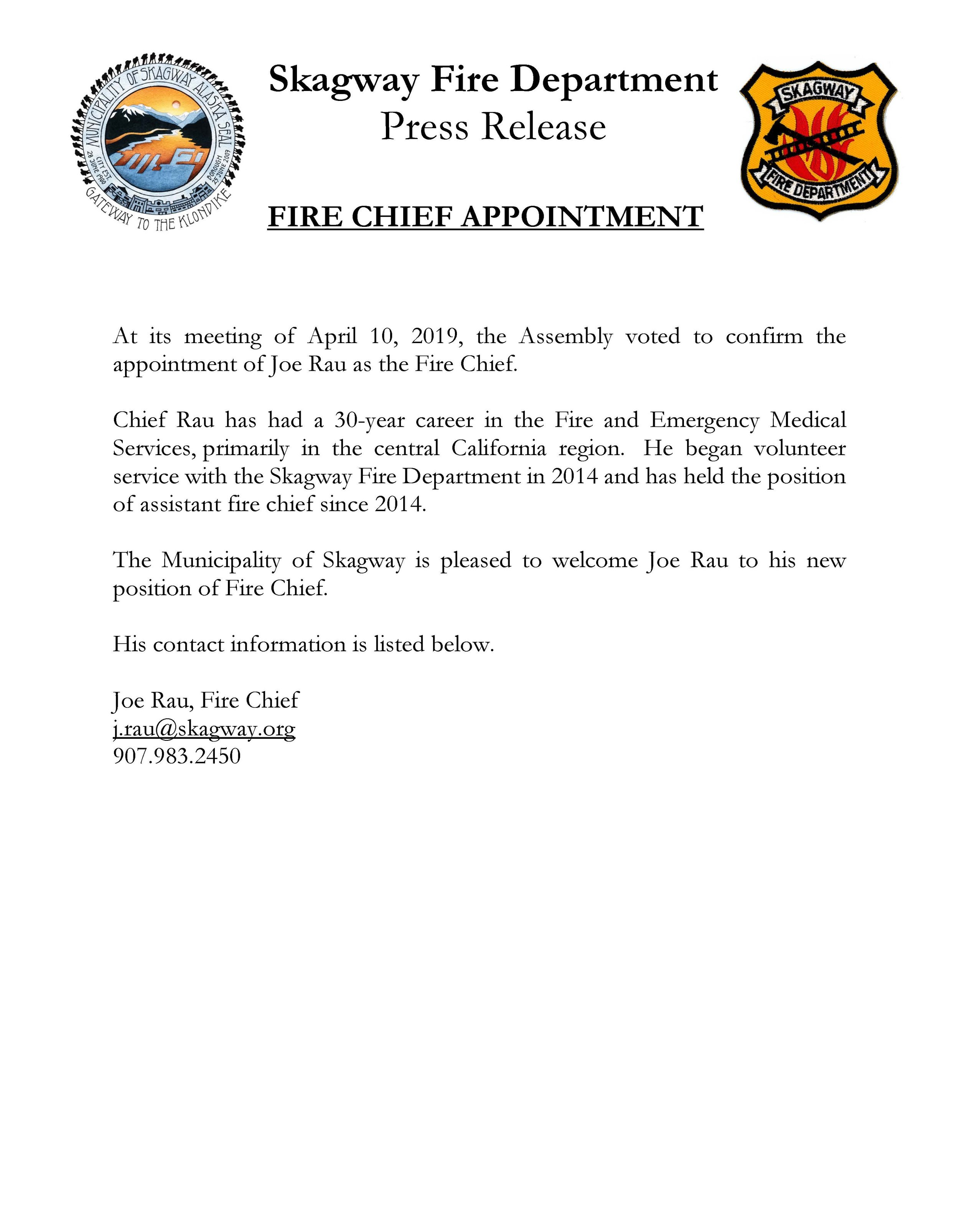 Chief Rau Press Release.jpg