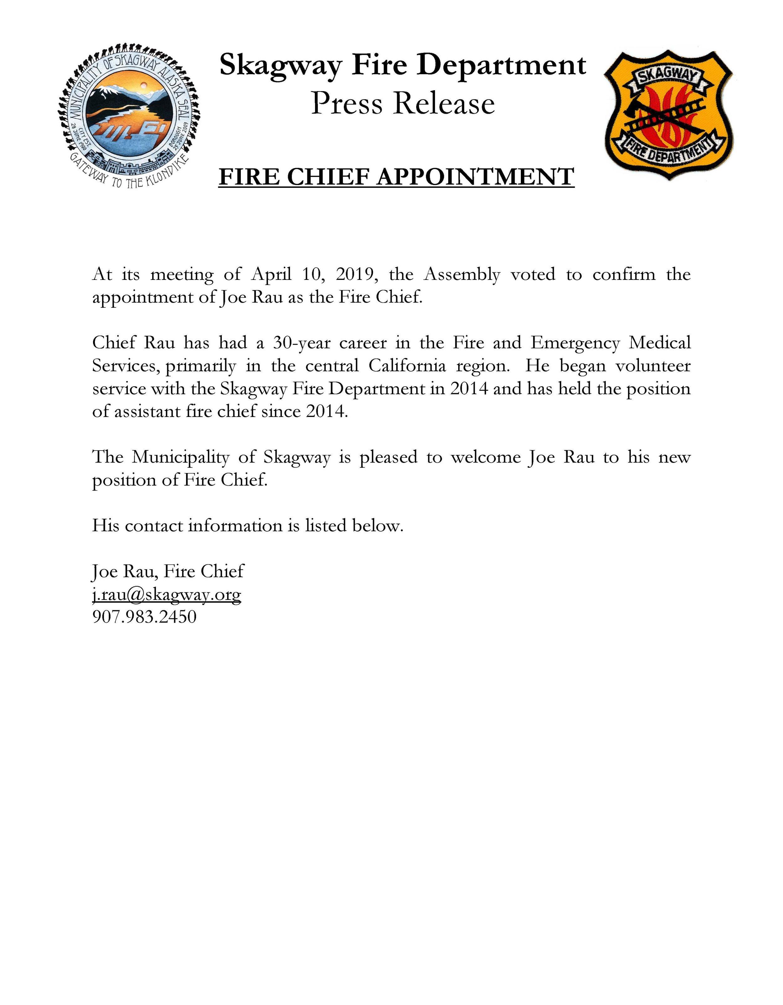 Chief Rau Press Release.jpg