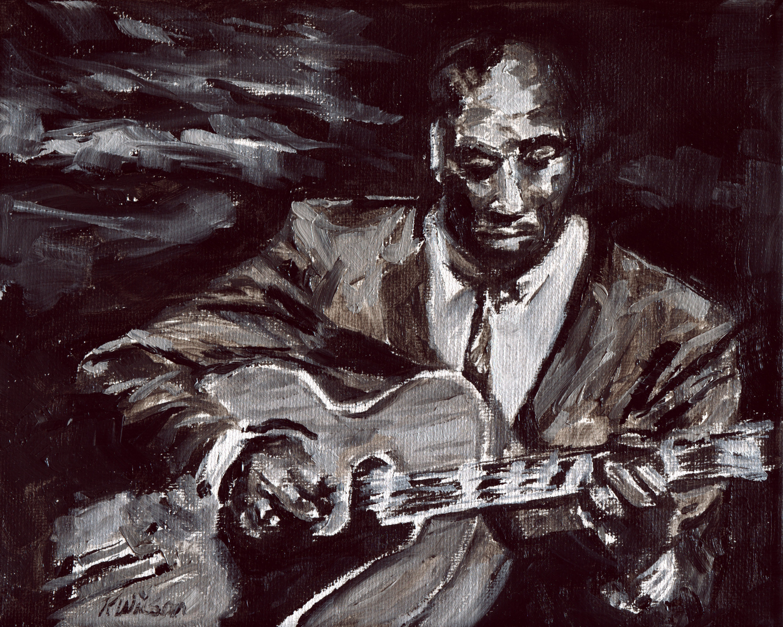 Jazz Study No. 3 - $400 US