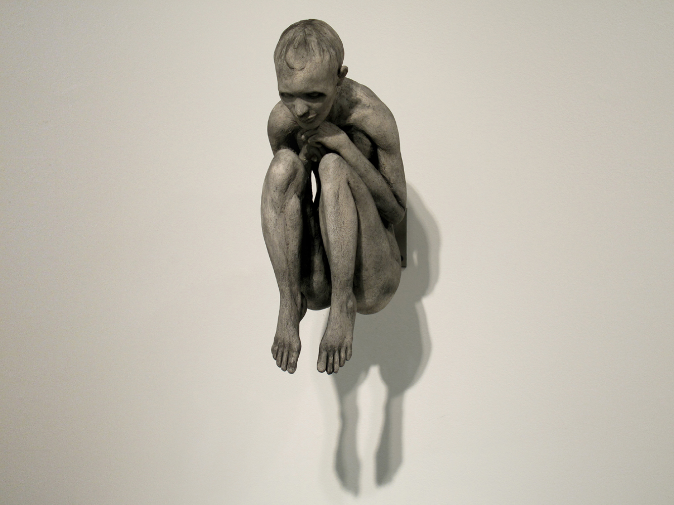 """Reverie, 15 x 8 x 10""""Plaster- 2009"""