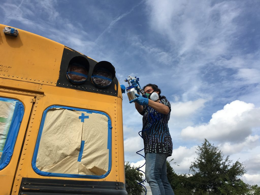 Hope for Georgia Bus — Photo by Myke Johns / WABE