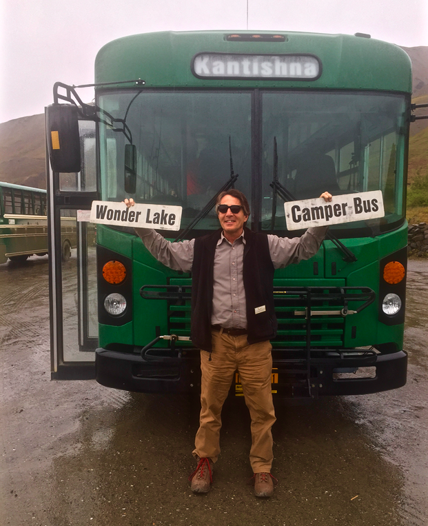 Our bus driver Gary sporting his new Warby Parker sunglasses #seesummerbetter