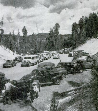 Yellowstone in 1946