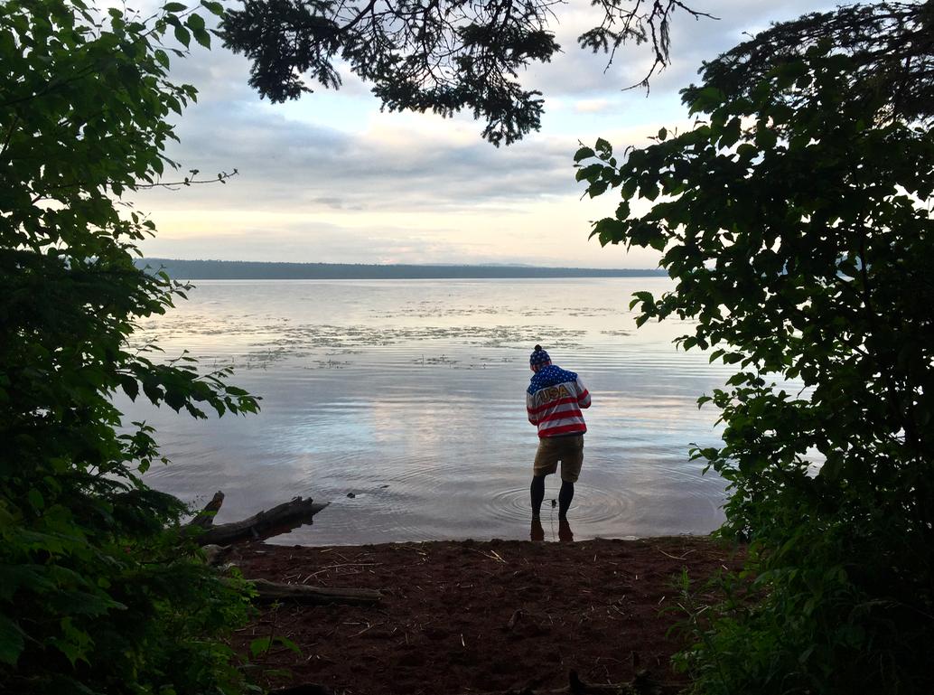 We hiked the Feldtmann Loop, this is Feldmann Lake, wait until you see what is in it...