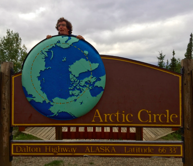 Officially in the Arctic