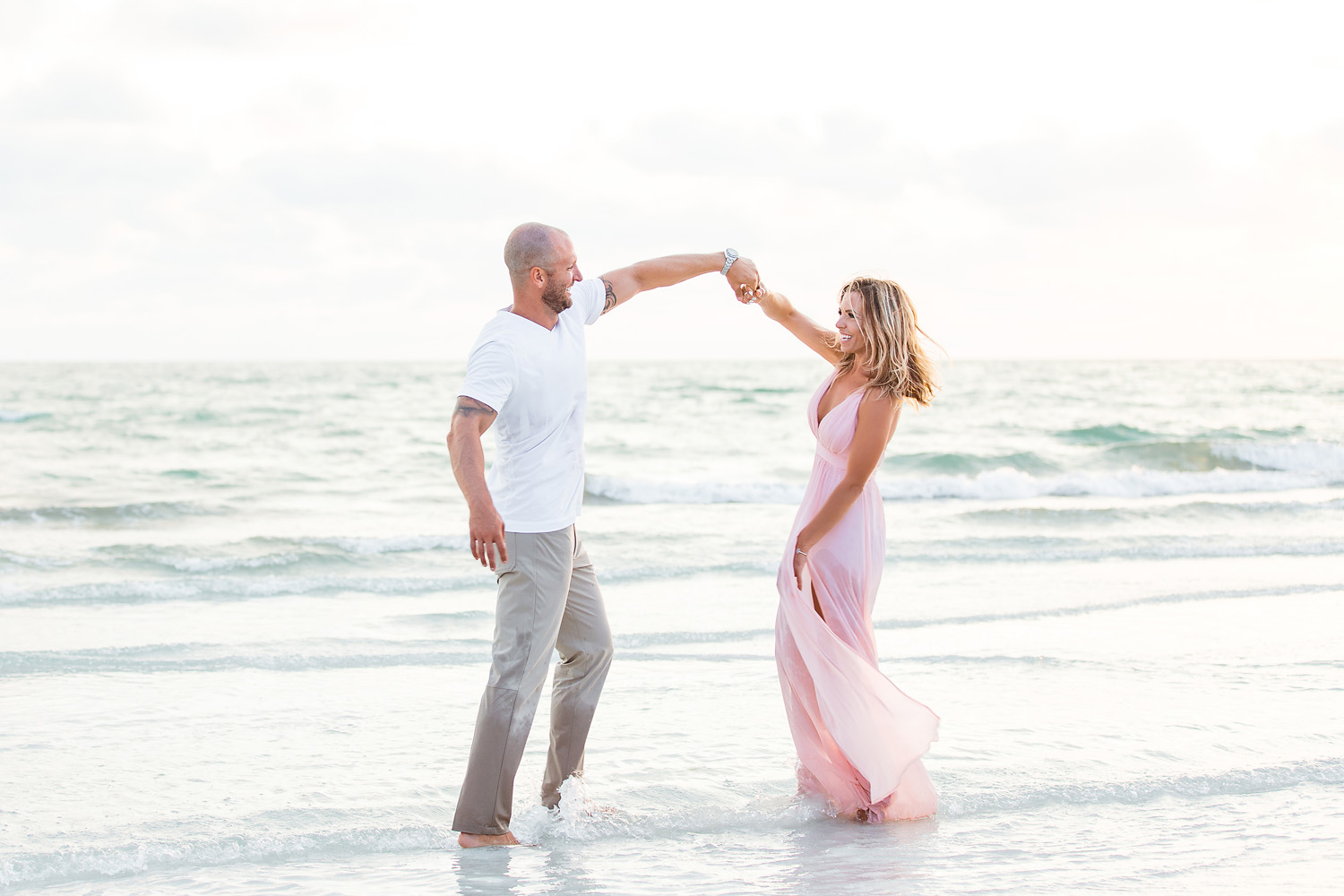 Siesta Key Beach engagement, sarasota engagement, Katelyn Prisco Photography, Southwest florida engagement, Siesta engagement, sarasota photographer, engagement photography sarasota