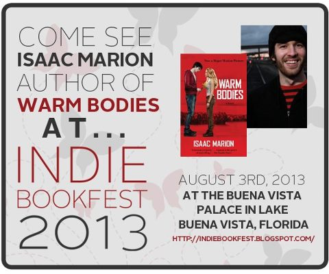 Indie book fest warm bodies author