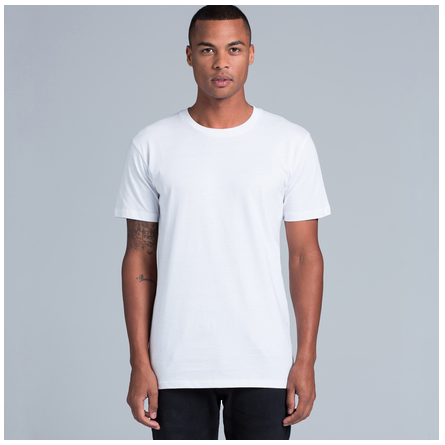 Men T-shirt Cut on model