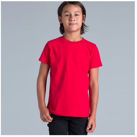 Youth T-shirt on Model