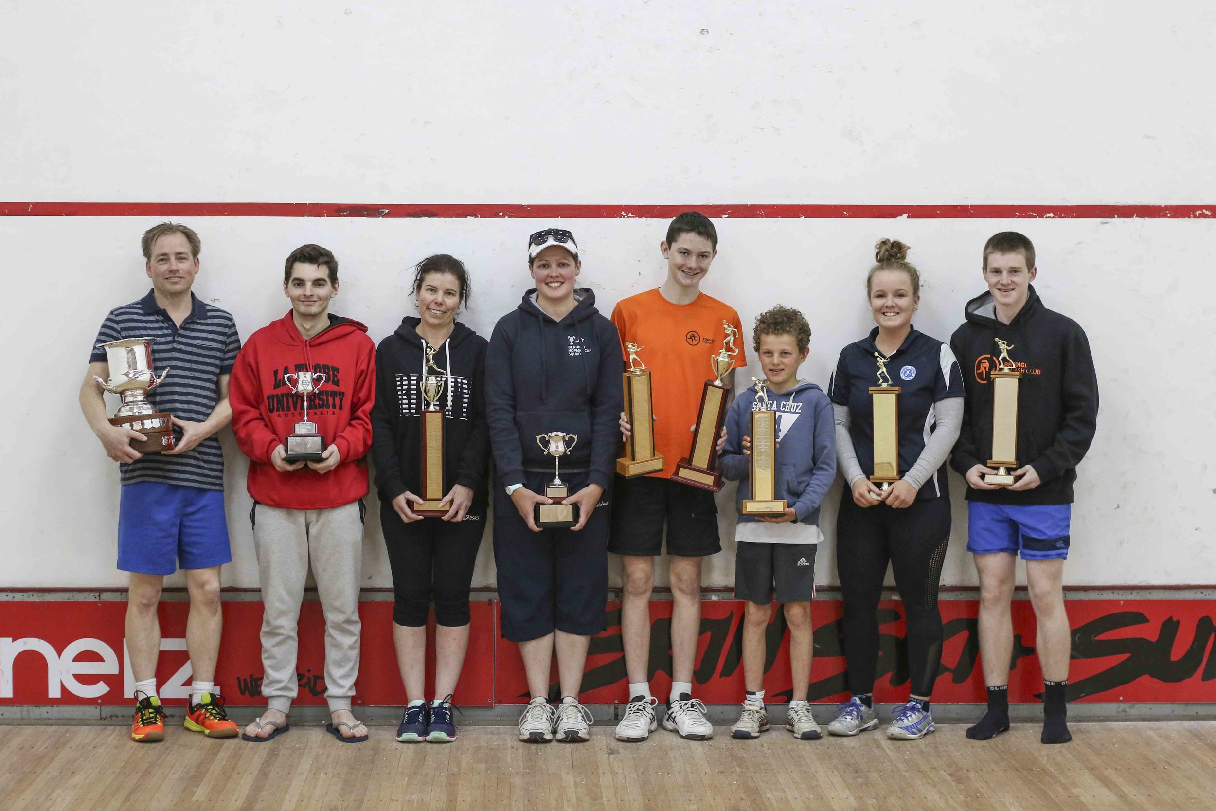 Bendigo Squash Club Championships 2016