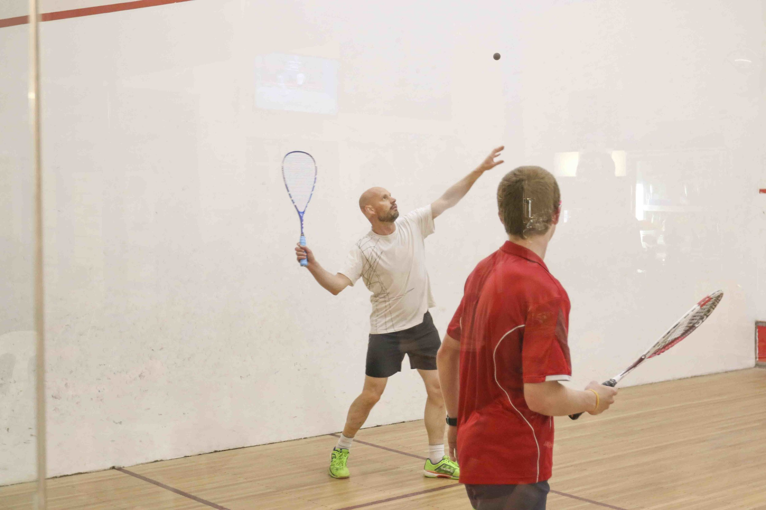 play racket sport bendigo squash club squash serve