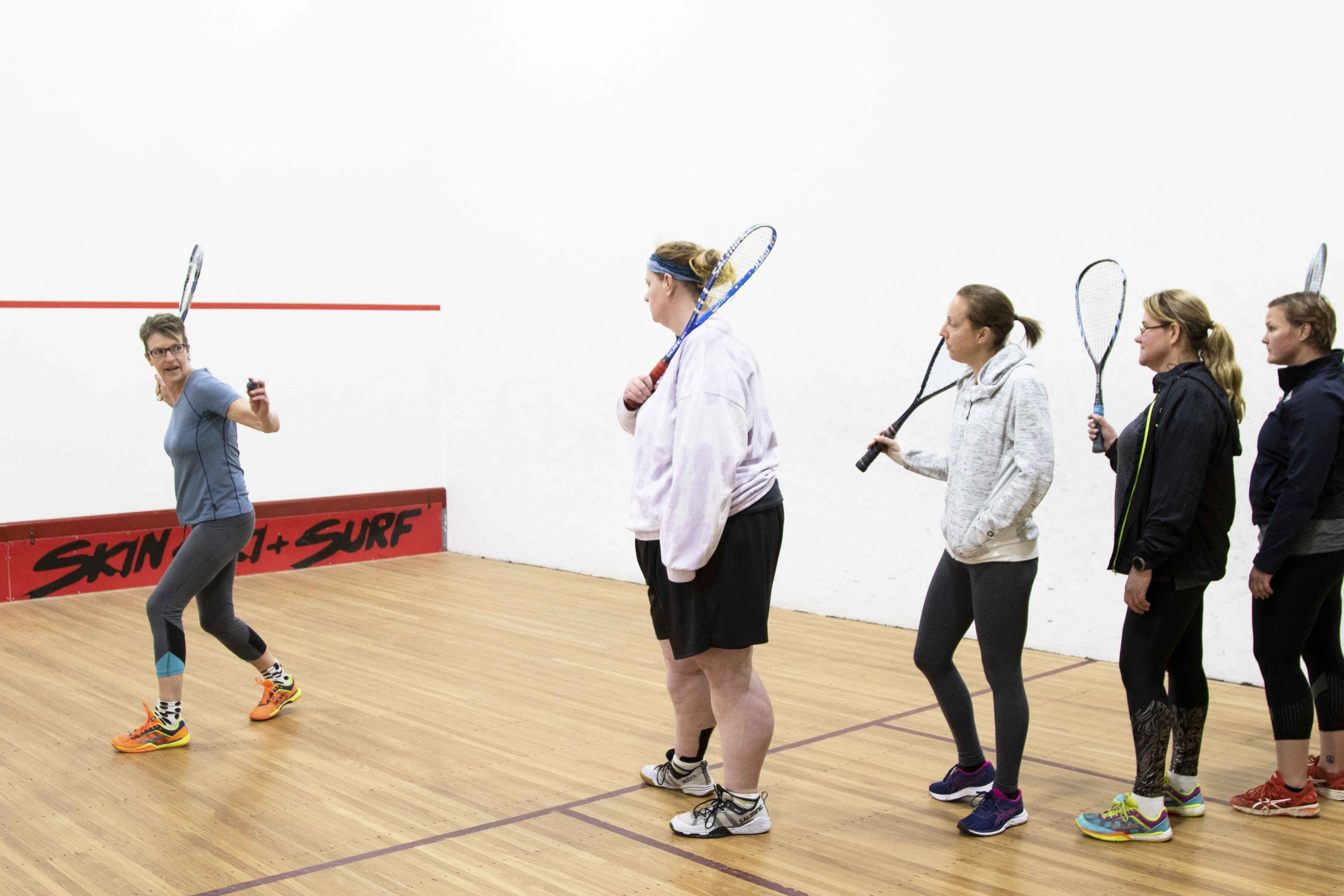 An all girls sporting experience in Bendigo that is great for fitness and making new friends. Find out just how fun squash can be.