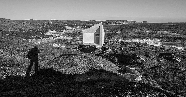 Squish Studio, Fogo Island, Saunders Architecture