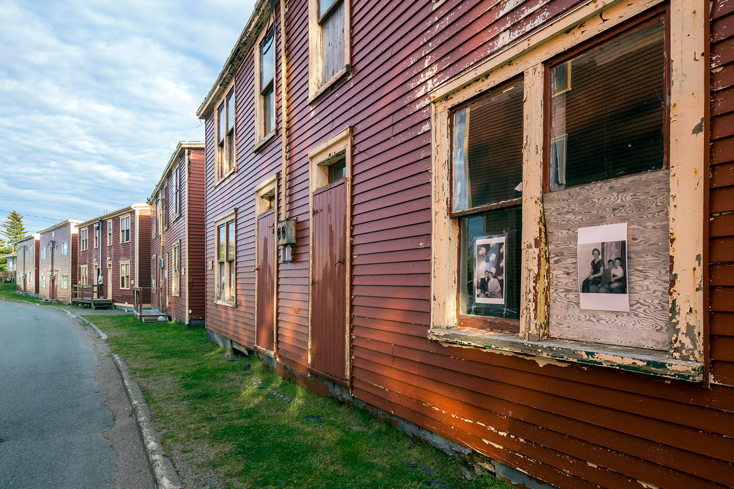 Port Union is a small community  near Bonavista, Newfoundland that is working to preserve the only Union built town (1916) in North America.