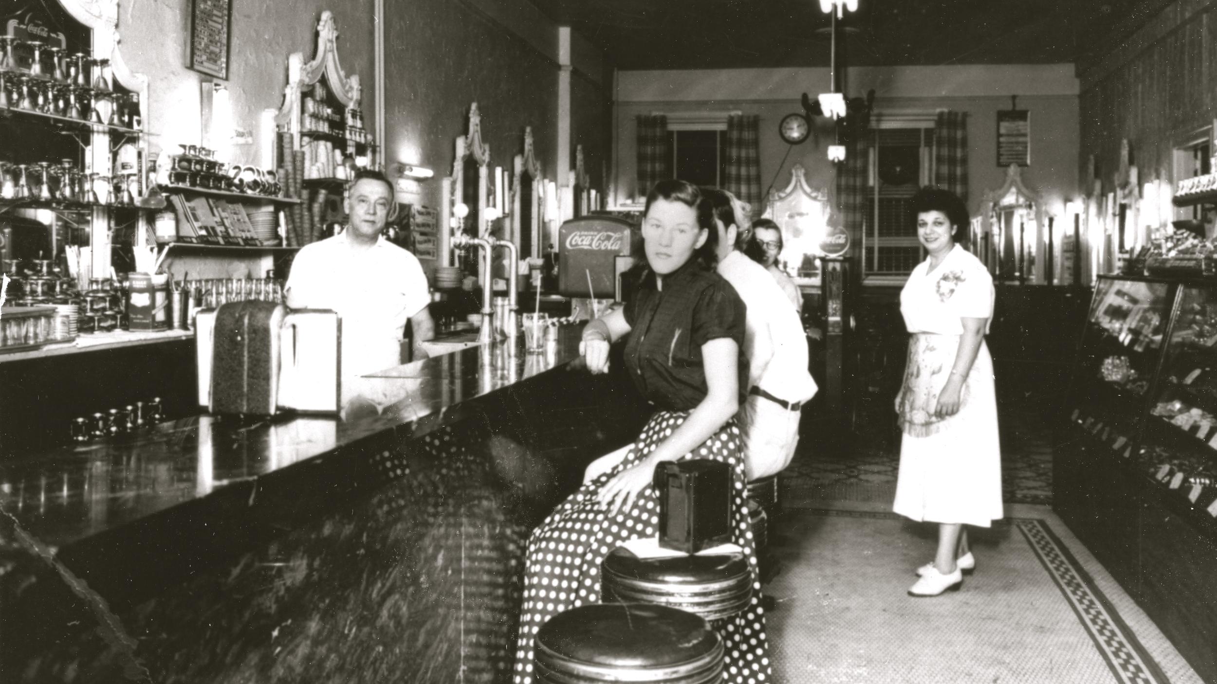 Sweet Shop circa 1932